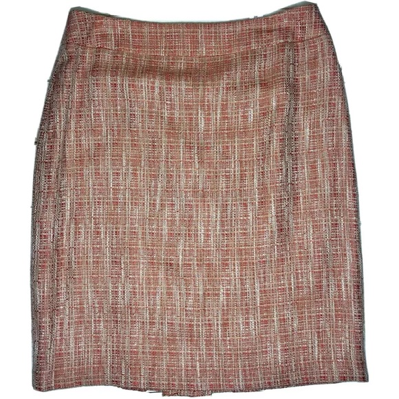 Jones Wear Dresses & Skirts - JONES WEAR Womens Papaya Tweed Marbella Skirt